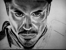 Iron Man - Robert Downey Jr - In progress by Jan20000