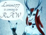 RAW Art Show Announcement by Lorien077