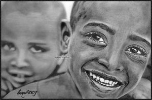 Poverty Smile by Maneb-Sahlah