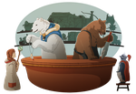 Welcome to Polar-Grizzly Wares by FedoraCat