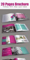 Multiuse Minimal Square Brochure by Designhub719
