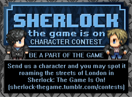 Sherlock: The Game Is On (Character Contest) by SherlockTheGame