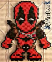 Chibi Deadpool by PerlerPixie