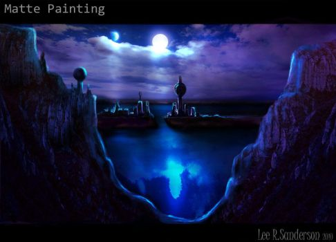 Matte Painting by leelee-online