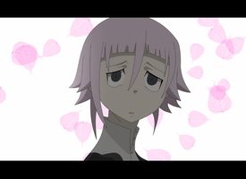 ANIMATION- Soul Eater: Crona and Maka's kiss by Venetia-TH