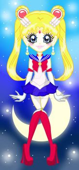 Sailor Moon by ISORBMylienKamitan