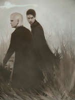 Draco and Theodore by lennycosmos