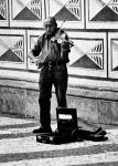 The street musician by ruthsantcortis