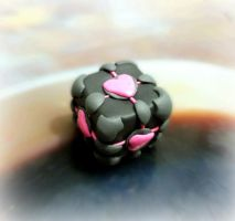 Companion Cube by Machi-Ramen