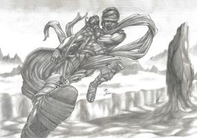 Prince of Persia Entry 2 by Pencil-Fluke