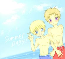 APH - Summer Days by Kyuutchi