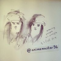 Drawing People On OMEGLE - 1 by anime-master-96