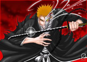 Ichigo Hollow Form by Osmar-Shotgun