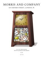 Arts and Crafts Clock by wowhappyfish
