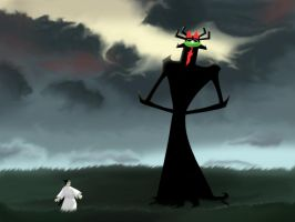 Aku- Mr. Sunshine by Volfeyed