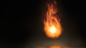 Fireball Wallpaper #2 by Dr3aMox