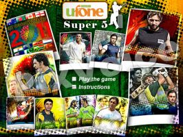 Ufone Cricket Game Screen by send2owais