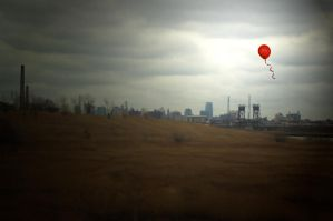 The Red Balloon by SarArt16