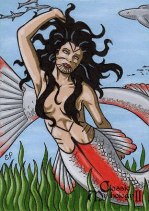 Sedna AP Sketch Card - Classic Mythology II