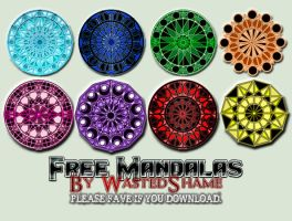 WastedShame - Mandalas by wastedshame