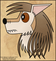 Portrait of a Loyal Dog by LordDominic