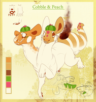 Cobble And Peach by Densetsugin