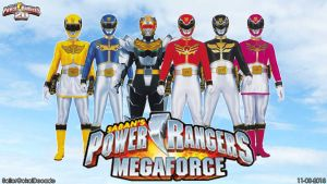 Power Rangers Megaforce WP by jm511