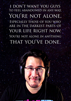 You're not alone by geekypinky