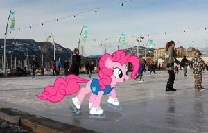 pinkie loves to skate by MetaDragonArt
