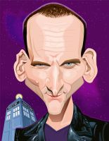THE 9th DOCTOR by kgreene