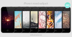 iPhone 4 Mixed Wallpack 05 by kirill0v