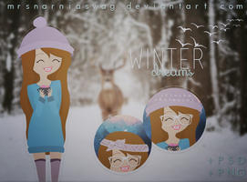 WinterDreams doll by MrsNarniaSwag