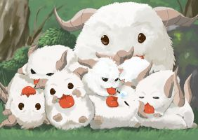 Poro's Family by Tyosif