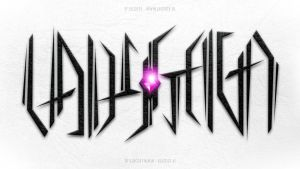 Lady Gaga Ambigram 'illuminati by Leconte