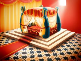 1001 night bedroom concept by X-Factorism