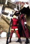 Alucard and Seras Victoria by LeydaCosplay