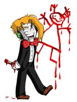 Slappy's drawing by Plyesdayk