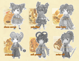 [CLOSED] Adoptable::PanNoYokai by mayoujii