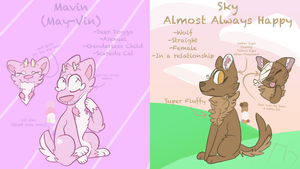 Some More OCs|Refs by doodlecat0w0