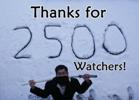 Chiokys Gift to 2500 Watchers by chioky