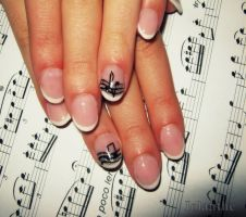 music nail by IolanthePhoto