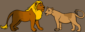 Lion Adoptables -SOLD- by jesspotter