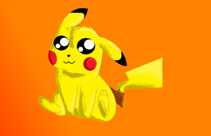 Pikachu by Dragonsong3