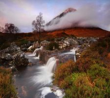 Buachaille Etive Mor Nov09 by DL-Photography