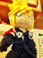 Cloud Strife Amigurumi by MyBloodyDeadZombie