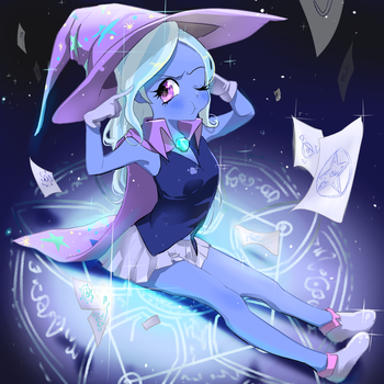the great and powerful magician by quizia