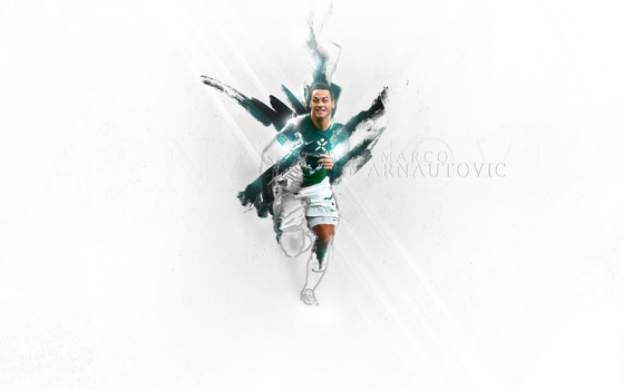 Marco Arnautovic Wallpaper by patDdesign
