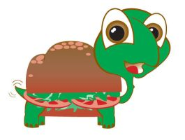 Torta the Turtle by kwant