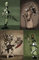 Character Compilation by ThePsychoGoat