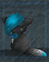 Saph in the rain by chocobeery